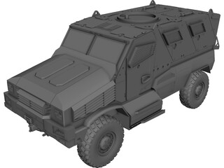 MRAP [NURBS] 3D Model