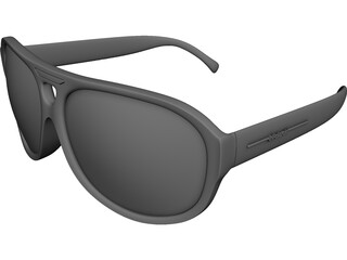 Polaroid Sunglasses CAD 3D Model