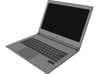 Acer Aspire S7 Notebook 3D Model
