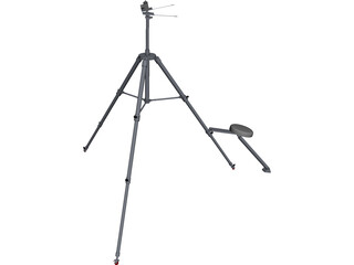 Camera Tripod [NURBS] 3D Model