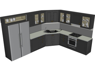 Peruvian Kitchen 3D Model