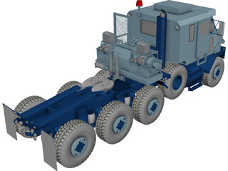 Oshkosh M1070 3D Model