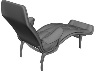 Luxury Chair 3D Model