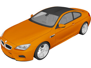 BMW M6 Coupe (2013) 3D Model