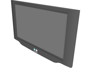 Panasonic Plasma TV 3D Model
