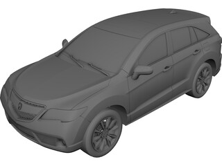 Acura RDX (2013) 3D Model 3D Preview