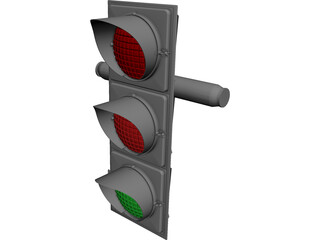Traffic Light 3D Model