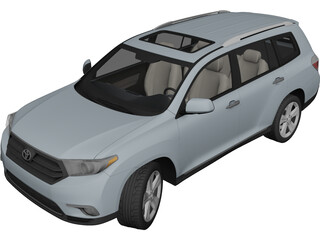 Toyota Highlander (2011) 3D Model