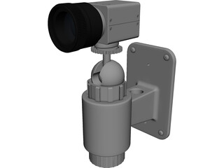 Security Camera 3D Model