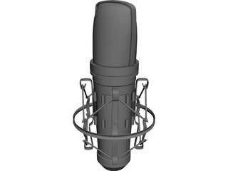 Marshall Electronics Microphone 3D Model
