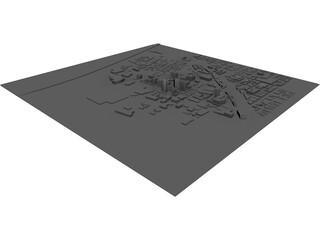 Tucson Downtown 3D Model