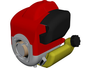 Honda GK100 Engine CAD 3D Model