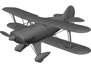 Pitts Special S-1 3D Model