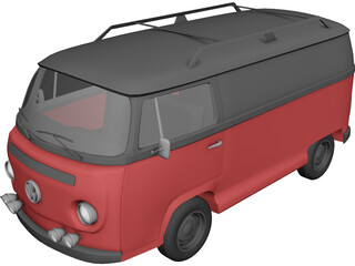 Volkswagen Type 2 3D Model