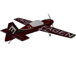 MX Aircraft MX2 CAD 3D Model