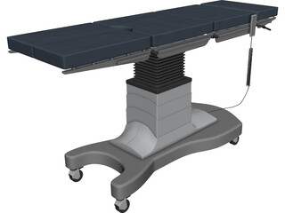 Surgical Table 3D Model