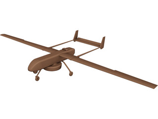 UAV VKT Drone 3D Model 3D Preview