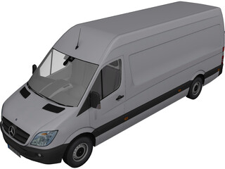 Mercedes-Benz Sprinter 313 CDI 3D Model