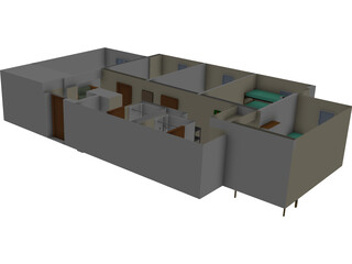 O`Connor Hall Dorm at Embry-Riddle Aeronautical University 3D Model