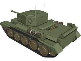 Cromwell VII A24 3D Model