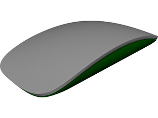 Apple Magic Mouse CAD 3D Model