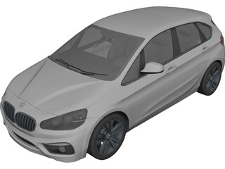 BMW 225i Active Tourer 3D Model