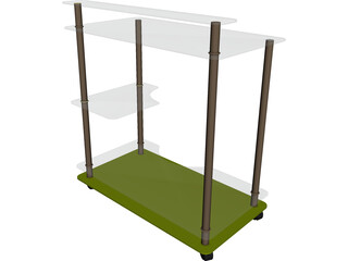 Book Stand 3D Model