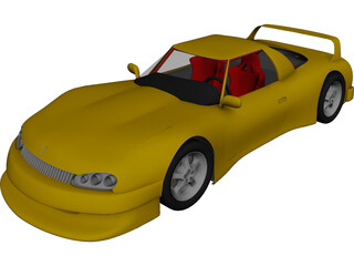 Excalibur Racing FVH 3D Model