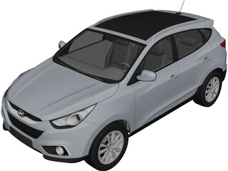 Hyundai ix35 (2011) 3D Model