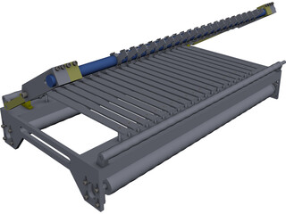 Brick Cutter CAD 3D Model