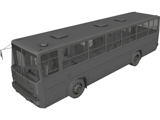 Ikarus 260 3D Model 3D Preview