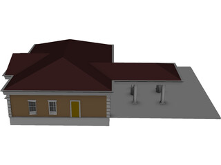 Bank of Omaha Nebraska 3D Model