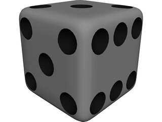 Casino Dice 3D Model 3D Preview