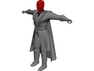 Star Wars Darth Maul 3D Model