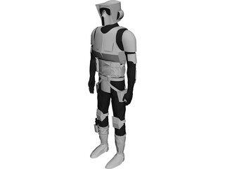 Star Wars Scout 3D Model