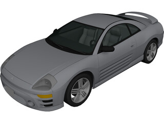 Mitsubishi Eclipse (2003) 3D Model