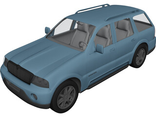 Lincoln Aviator 3D Model