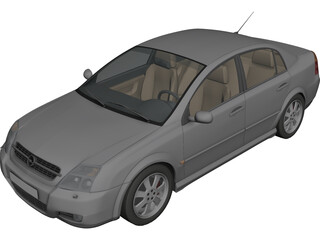 Opel Vectra 3D Model 3D Preview