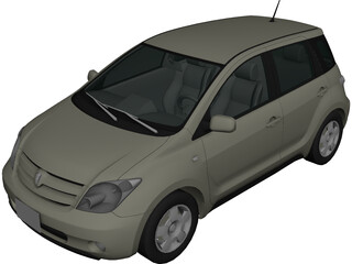 Scion xA / Toyota Ist (2001) 3D Model