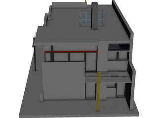 Schroder House 3D Model 3D Preview