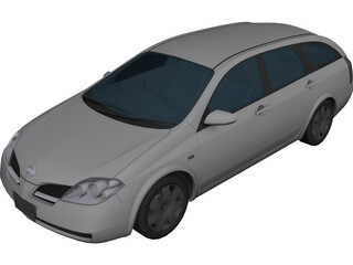 Nissan Primera Wagon (2001) 3D Model
