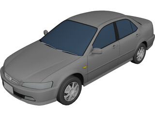 Honda Accord 3D Model