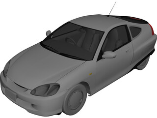 Honda Insight (1999) 3D Model