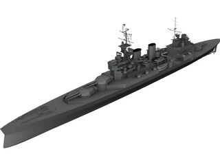 Renown Battlecruiser 3D Model