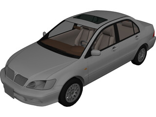 Mitsubishi Lancer Cedia (2000) [Japan] 3D Model