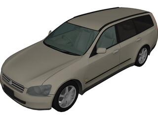 Nissan Stagea (2001) 3D Model