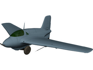 Messerschmitt Me 163 Komet 3D Model