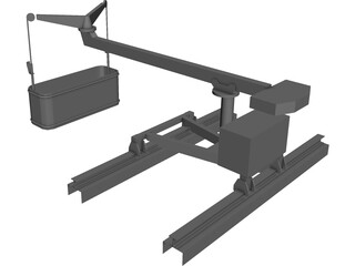 Window Crane (Small) 3D Model