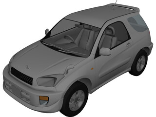 Toyota RAV4 (2000) 3D Model