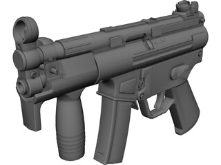 Heckler&Koch MP5K 3D Model
